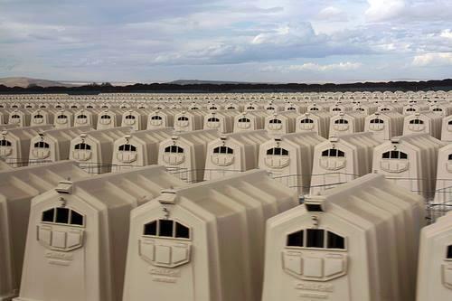 Uma fazenda de vitela, que você acha TÃO gostosa.